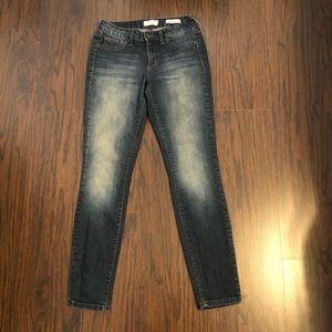 Jessica Simpson jeans kiss me super skinny size 28